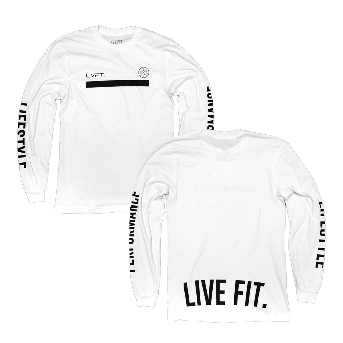 Underline Long Sleeve- White