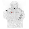 Covert Full Zip Windbreaker- Snow Camo