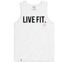 Live Fit Apparel Classic Tank - White - LVFT