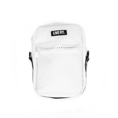 Live Fit Apparel Live Fit Crossbody Bag - White - LVFT