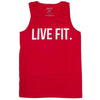 Live Fit Apparel Live Fit Original Tank - Red - LVFT