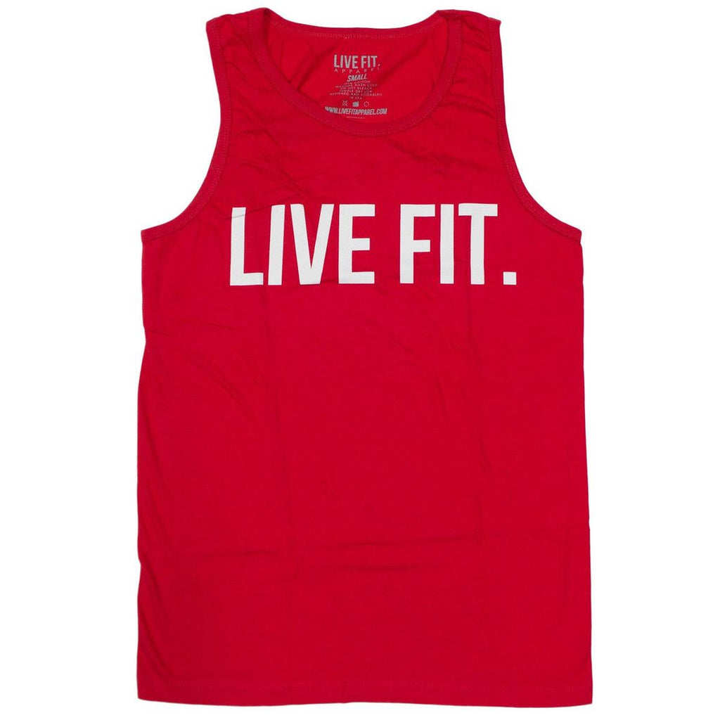 Live Fit Original Tank - Red