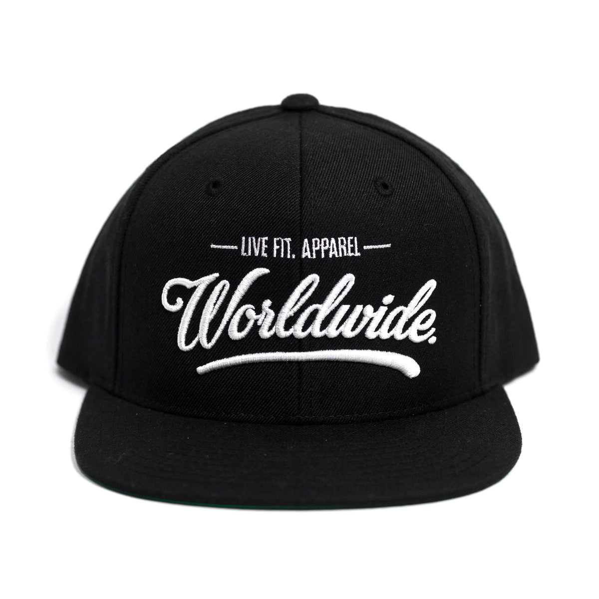 Worldwide Hitters Snapback- Black/White