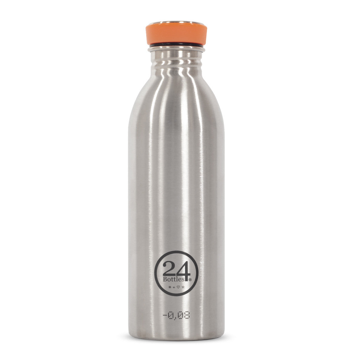 bottle aluminum silver 24
