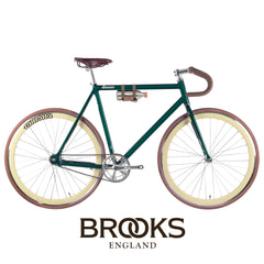 bike fixie fixed atalanta green classic lamona brooks