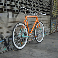 bike orange fixie fixed aix lamona bicicleta
