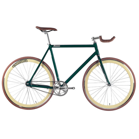 bike fixie fixed green atalanta bicicleta