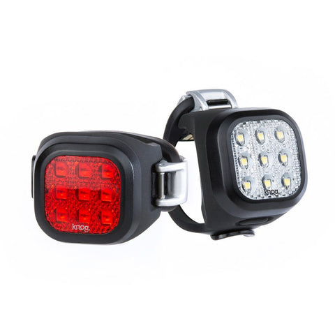 PAREJA DE LUCES KNOG BLINDER MINI NINER (NEGRO)