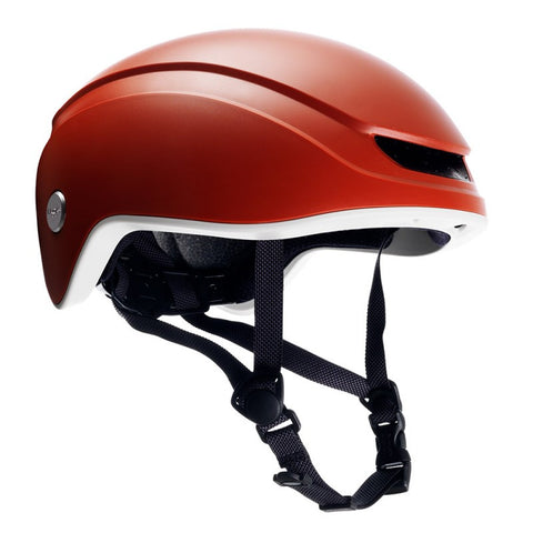 helmet orange brooks island fixed