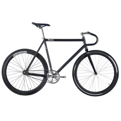 fixie fixed bike black lamona carbon