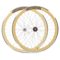 SET Ruedas Fixie  crema