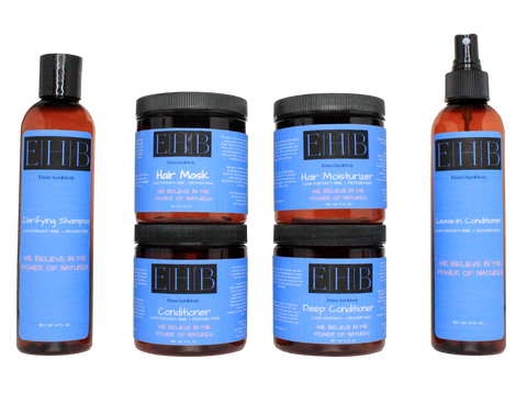 Low Porosity Haircare System
