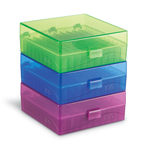 100 Well Microtube Storage Boxes