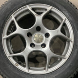 Winter Package 205/60R16 on 5x114.3 TSW alloy rims