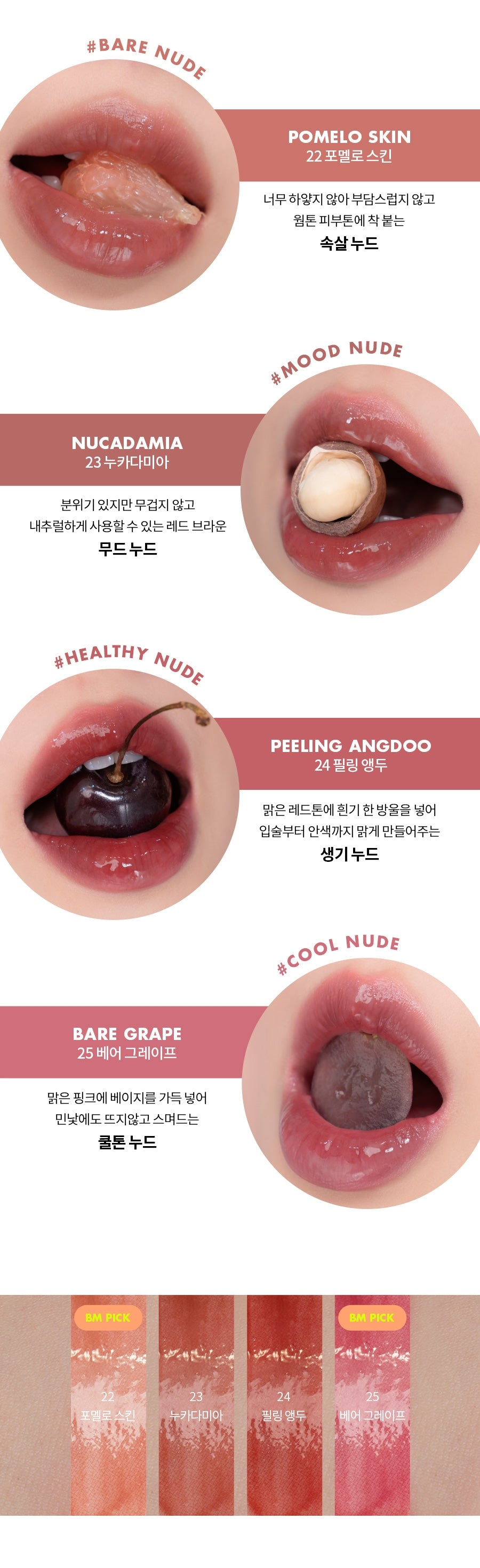ROM&ND Juicy Lasting Tint Autumn Fruits