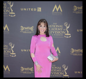 kate linder, young and restless, y&r, emmy, jaredjamin, jamin, jewelry ,earrings, 44th Primetime Emmy Awards