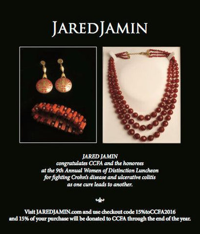 ccfa, jaredjamin, jewelry, charity, donor,