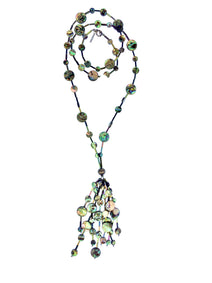 Astral Worlds Tassel Necklace, Necklaces, JARED JAMIN