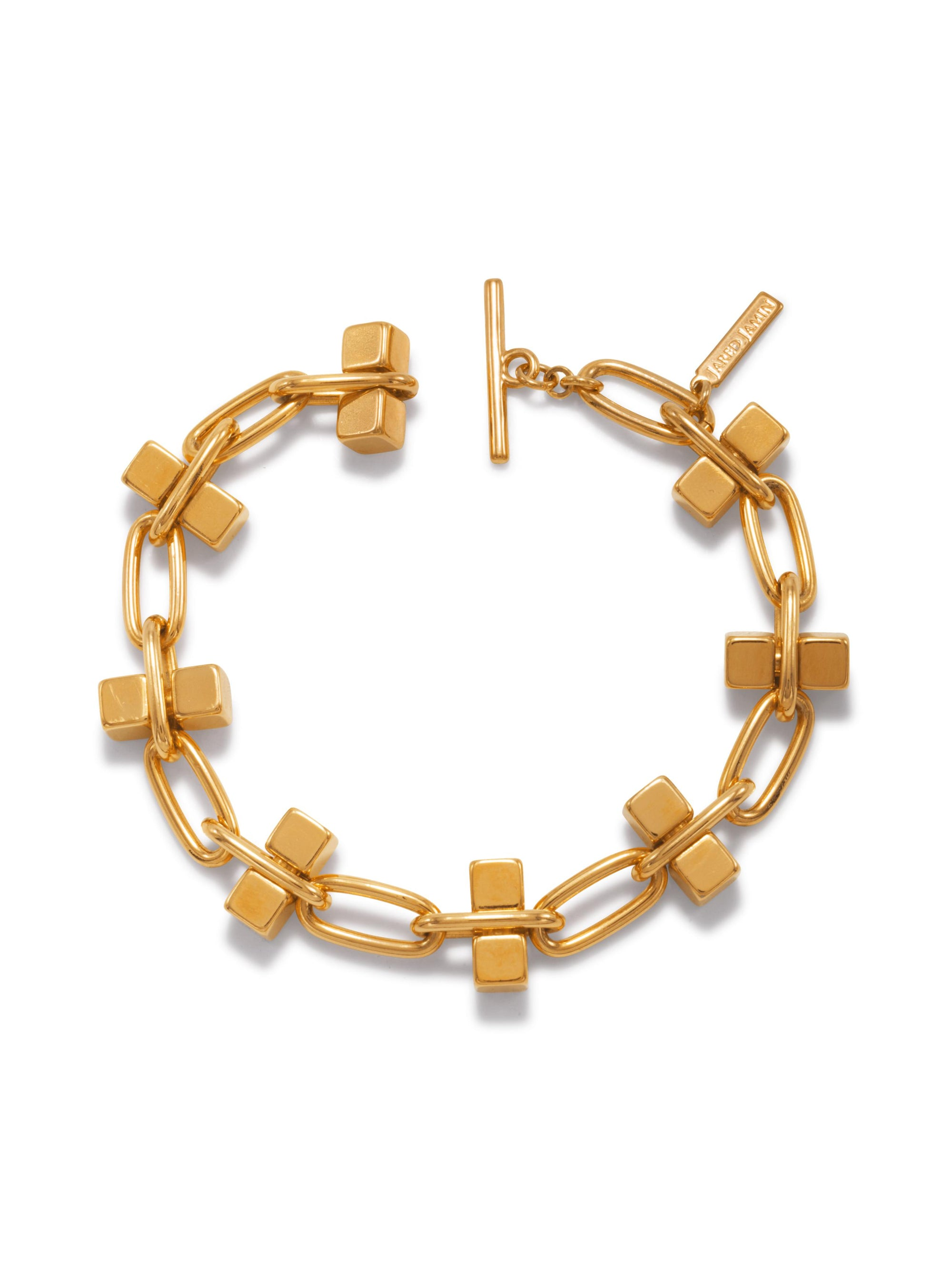 Blockbuster Gold Chain Bracelet-Bracelets-JAREDJAMIN Jewelry Online-JAREDJAMIN - Fashion Jewelry & Accessories