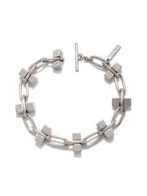 Blockbuster Silver Chain Bracelet-Bracelets-JAREDJAMIN Jewelry Online-JAREDJAMIN - Fashion Jewelry & Accessories