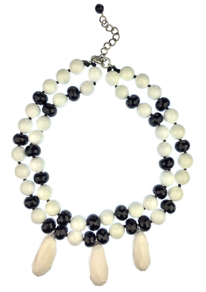 Black and White Delights Necklace 2.0, Necklaces, JARED JAMIN