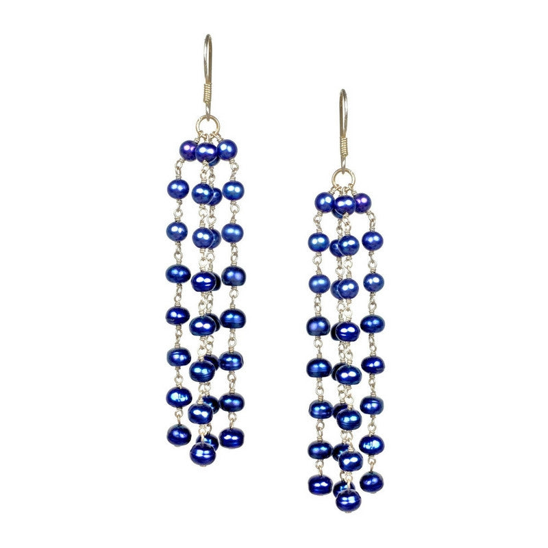 Earrings - Jared Jamin  - Jared Jamin Online - Blue Belle Earrings -  - 2