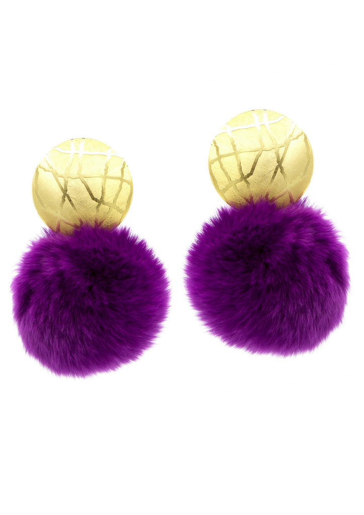 Bunny Hop Clip Earrings-Earrings-Jared Jamin Online-JARED JAMIN