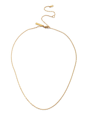 "Chandler Cable Chain-Necklaces-JAREDJAMIN Jewelry Online-18""-20""-22""-Gold-JARED JAMIN"