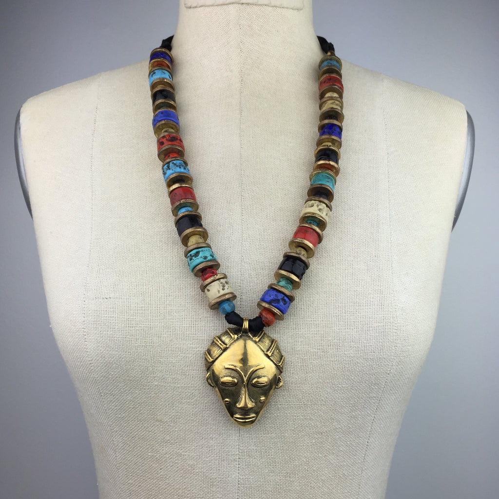 Conga Bonga Tribal Necklace, Necklaces, JARED JAMIN