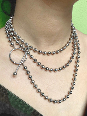 Silver Constellation Orbita Necklace-Necklaces-Jared Jamin Online-JARED JAMIN