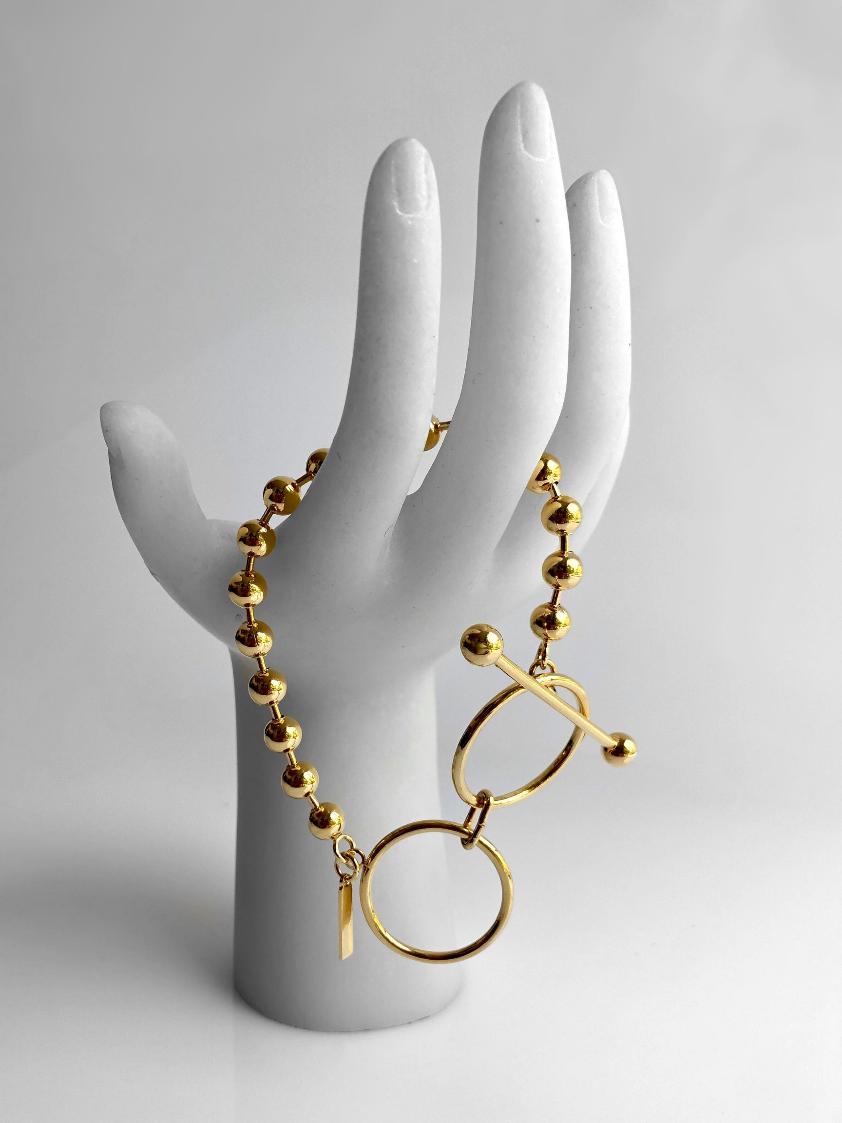 Gold Constellation Toggle Bracelet-Bracelets-JAREDJAMIN Jewelry Online-JARED JAMIN
