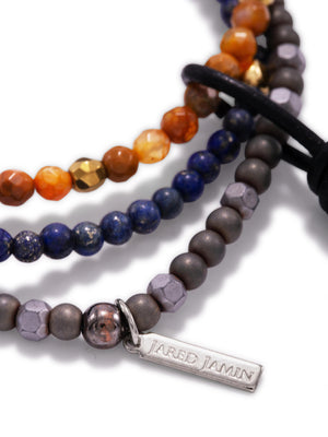Earth Horizon Bracelet Set-Bracelets-JAREDJAMIN Jewelry Online-JAREDJAMIN - Fashion Jewelry & Accessories