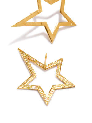 Gold Shooting Star Dust Stud Earrings (Sm)-Earrings-JAREDJAMIN Jewelry Online-JAREDJAMIN - Fashion Jewelry & Accessories