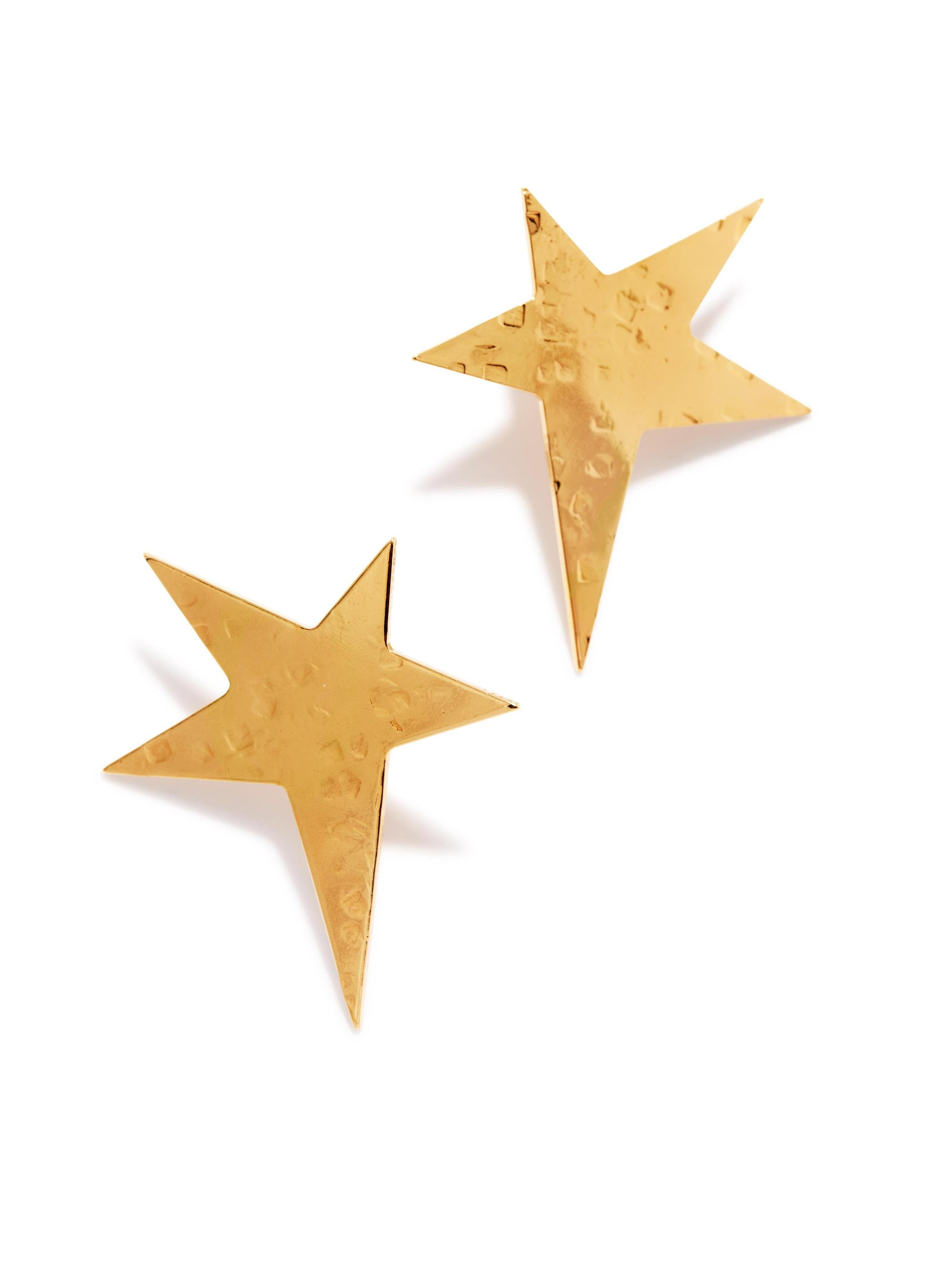 Gold Shooting Star Stud Earrings-Earrings-JAREDJAMIN Jewelry Online-JAREDJAMIN - Fashion Jewelry & Accessories