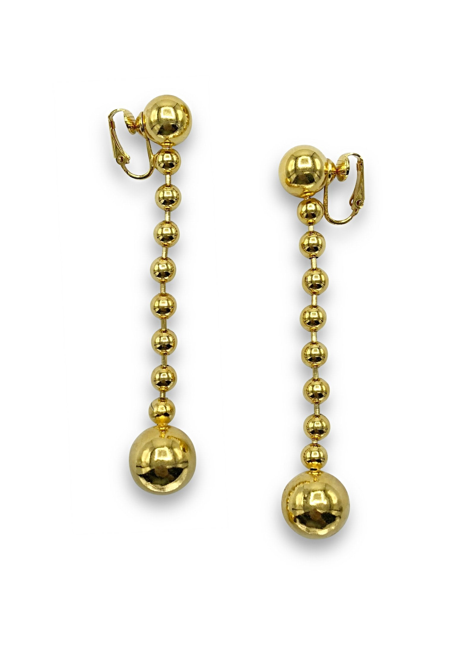 Orbita Constellation Gold Clip Earrings-Earrings-JAREDJAMIN Jewelry Online-JARED JAMIN