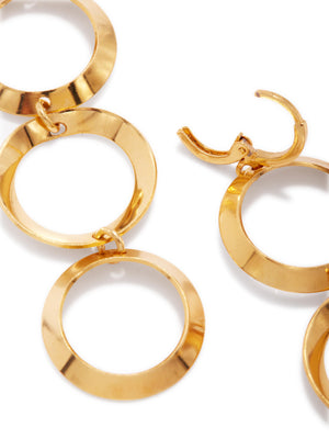 Gold Rimini Hoop Earrings-Earrings-JAREDJAMIN Jewelry Online-JARED JAMIN