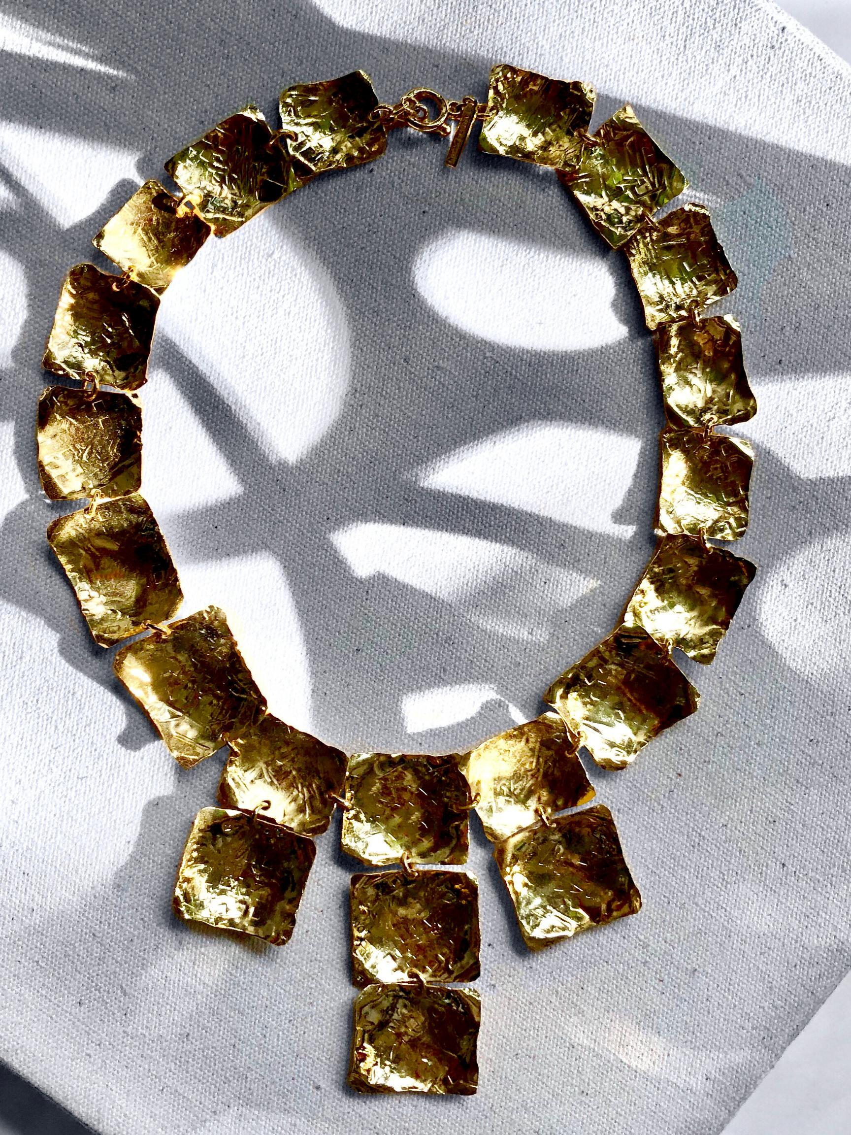 Gold Girandole Prairie Necklace-Necklaces-JAREDJAMIN Jewelry Online-JARED JAMIN