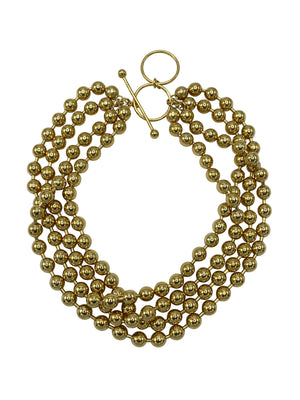 Gold Orbtia Galaxy Necklace-Necklaces-Jared Jamin Online-JARED JAMIN