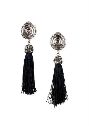 Hades for Ladies Clip-on Tassel Earrings, earrings, JARED JAMIN