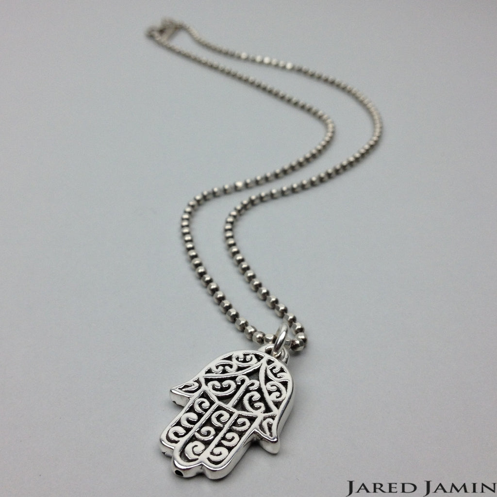 Necklaces - Jared Jamin  - Jared Jamin Online - Hand Held Hamsa Necklace -  - 2