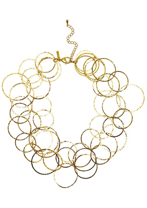 Gold Lindy Links Layered Necklace-Necklaces-Jared Jamin Online-JARED JAMIN