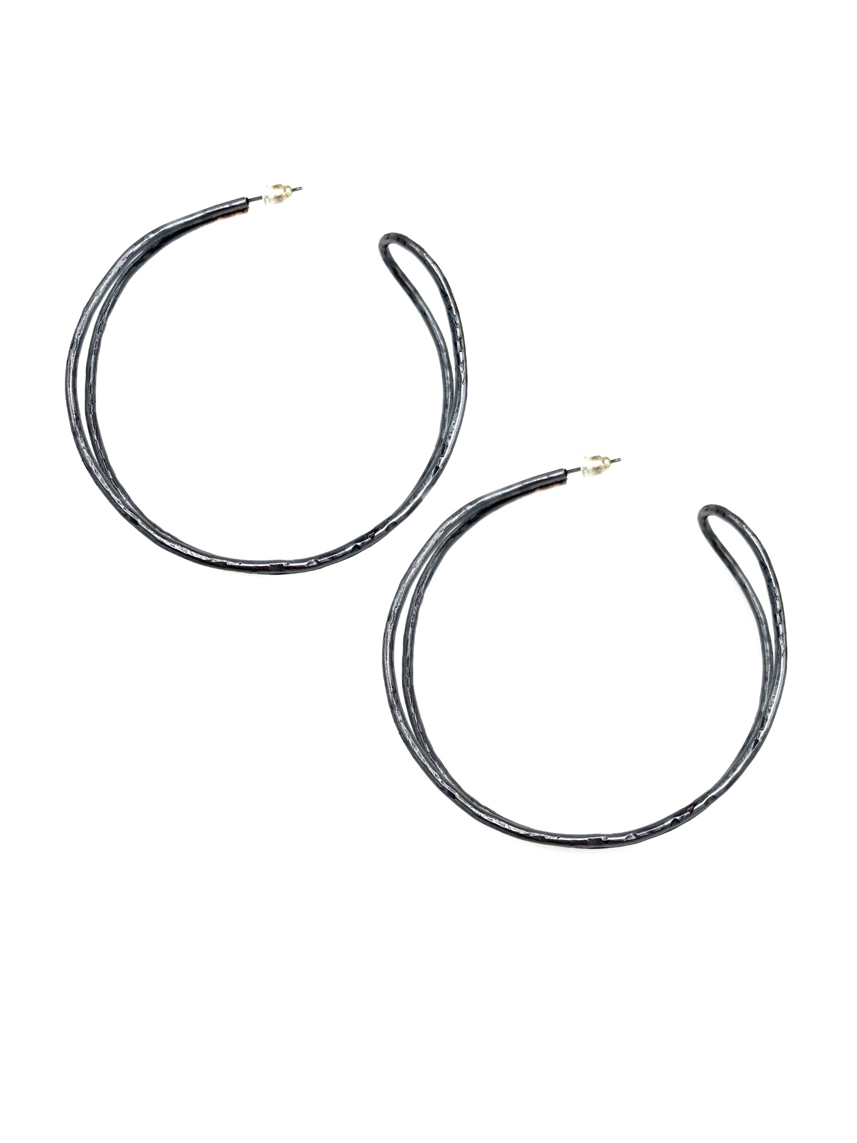 Patina Mimi Hoop Earrings-Earrings-JAREDJAMIN Jewelry Online-JARED JAMIN