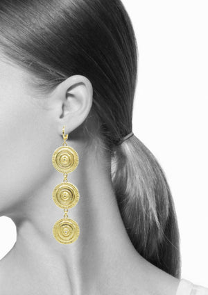 Minerva Gold Leverback Earrings-Earrings-JAREDJAMIN Jewelry Online-JARED JAMIN