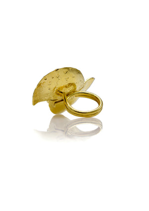 Monsoon Swirl Gold Ring-Womens rings-JAREDJAMIN Jewelry Online-JARED JAMIN