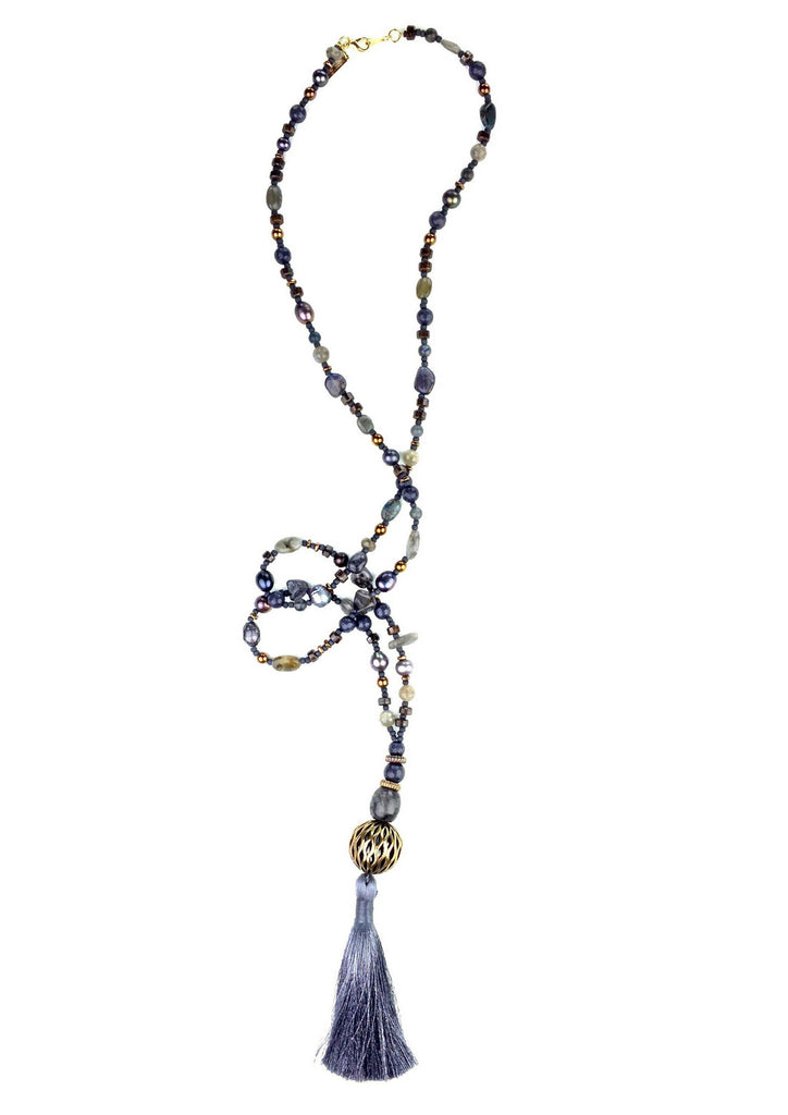 Necklaces - Jared Jamin  - Jared Jamin Online - Moscow Maiden Mala Necklace -
