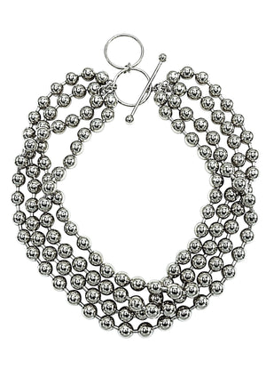 Silver Orbtia Galaxy Necklace-Necklaces-Jared Jamin Online-JARED JAMIN
