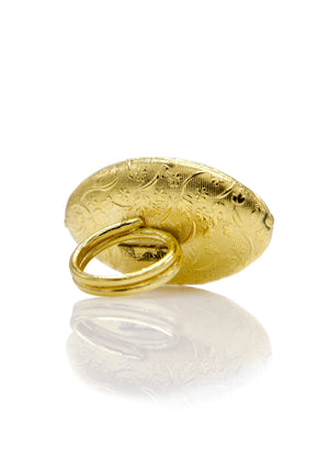 Oriental Almond Gold Ring-Womens rings-Jared Jamin Online-JARED JAMIN