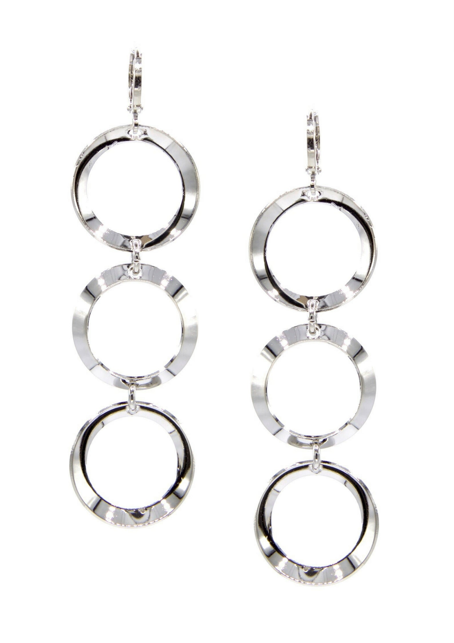 Silver Rimini Hoop Earrings-Earrings-JAREDJAMIN Jewelry Online-JARED JAMIN