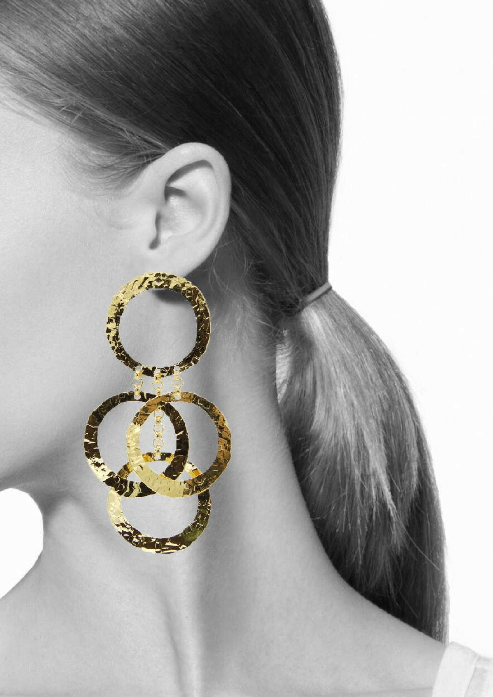 Ring Leader Earrings-Earrings-JAREDJAMIN Jewelry Online-Gold-JARED JAMIN