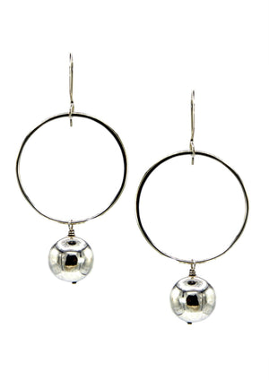 Silver Celestial Orbita Earrings-Earrings-Jared Jamin Online-JARED JAMIN